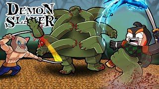 Demon Slayer MASTER Defeats HAND DEMON BOSS! (Minecraft)