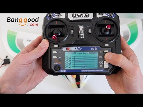 FlySky FS-i6 Radio Review (fromBanggood) & Setting up the Radio for a Flying Wing