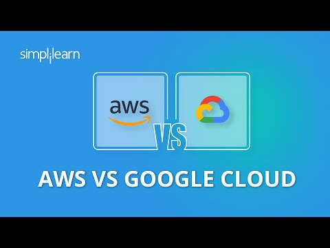 AWS vs Google Cloud | Difference Between AWS And Google Cloud | Cloud Computing | Simplilearn