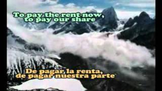 beds are burning midnight oil lyrics letra en español e ingles