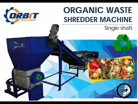 MSW Shredding Machine