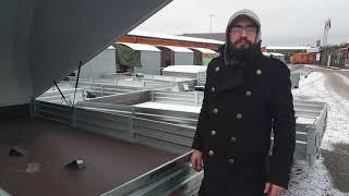 Чем отличается пластиковая крышка к прицепу мзса 817717.Видео обзор Кузовок www.cuzovok.ru
