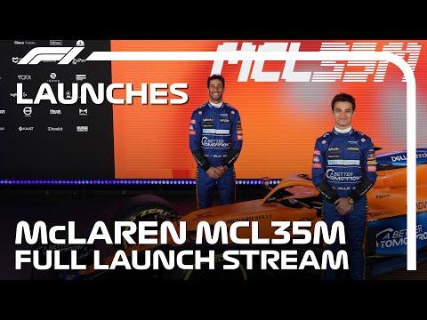 F1 2021 マクラーレン「MCL35M」新型F1マシン発表会のライブ配信動画