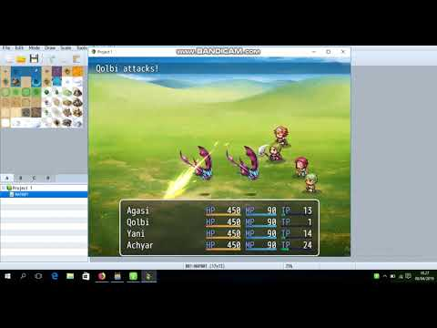 RPG Maker MV Battle System |YEP ATB Battle System| - смотреть онлайн