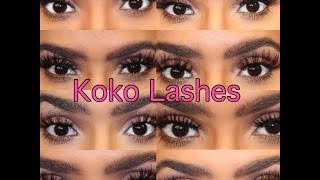 koko lashes try on - Free video search site - Findclip Net