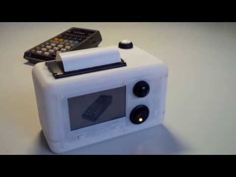 Build Your Own Instant Camera With A Raspberry Pi And Thermal Printer