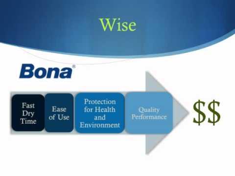 About Bona Waterborne Finishes