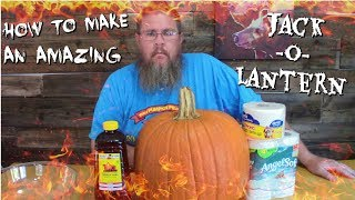 How to Make an AMAZING Jack-O-Lantern!