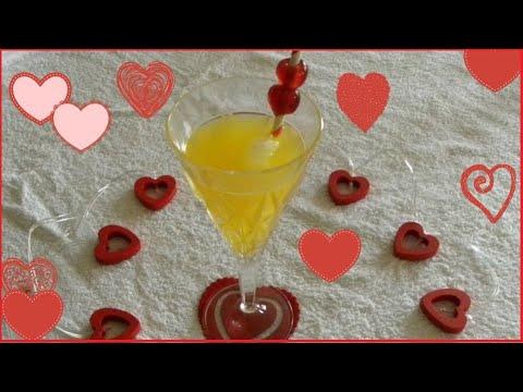 Receta COCKTAIL DE LA PASION | San Valentin |  Una Chef en la Cocina