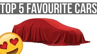 My Top 5 Favourite Cars In Sim Racing
