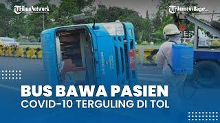 Bus Pengantar Pasien Covid-19 Kecelakaan di Tol, Polresta Bogor Kota akan Siapkan Pengawalan 24 Jam