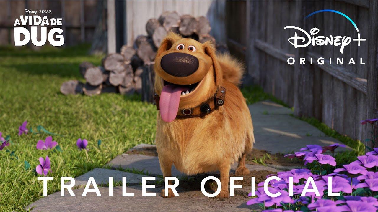 A Vida de Dug | Cachorro de Up terá série no Disney+