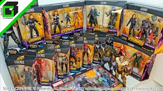 Every AVENGERS INFINITY WAR Marvel Legend!!! Complete set and Complete video!