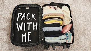 Pack with Me - Carry on Only  (for one week of travel)