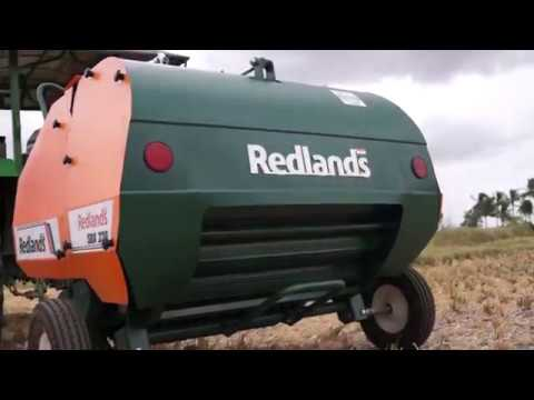 Red Lands Round Straw Bailer