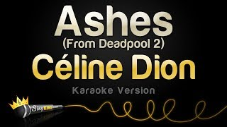 Céline Dion   Ashes (Karaoke Version)