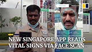 Start-up w Singapurze : aplikacja może odczytać parametry życiowe za pomocą skanowania twarzy w 45 sekund