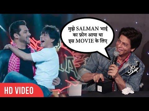 Shahrukh Khan Show LOVE and RESPECT for Salman Khan | Zero Official Trailer Launch
