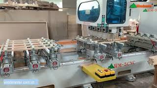 WM-5CNC   Loại máy làm mộng và khoan lỗ bán chạy nhất 2021