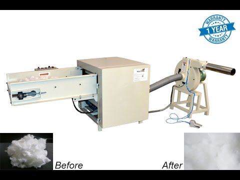 Micro Fiber Opening And Pillow Filling Machine