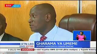 Gharama ya Umeme:Waziri wa Kawi,Charles Keter amekunusha kupanda kwa kawi