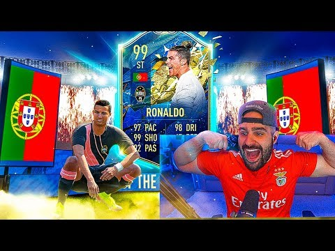 OMG 99 CRISTIANO RONALDO!! & I PACKED 2 ICONS!! FIFA 20 Ultimate Team