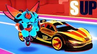 МАШИНКИ SUP Multiplayer #22 Видео для детей ПРОХОЖДЕНИЕ ИГРЫ про машины VIDEOS FOR KIDS games cars