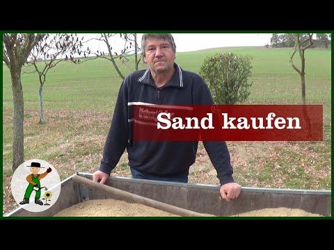 Woher bekommt man Sand?