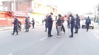 लकडाउन भएपछि पोखरा यस्तो देखियो | डिएसपी नै फिल्डम | Lockdown Nepal