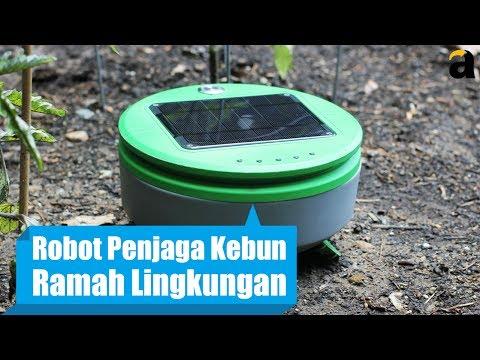 Robot Penjaga Kebun, Ramah Lingkungan