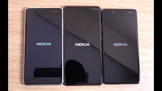 Nokia 7 Plus vs Nokia 6 vs Nokia 8 - Speed Test!