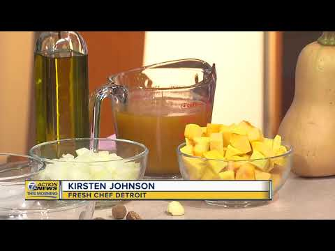 Meatless Monday Recipe:  Creamy Butternut Squash Soup