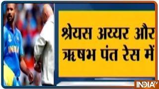 World Cup 2019: Shreyas Iyer या Rishabh Pant कर सकते हैं Shikhar Dhawan को रिप्लेस