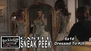 "Castle 6x14 Sneak Peek #3 ""Dressed To Kill"" Beckett in Wedding Dress"