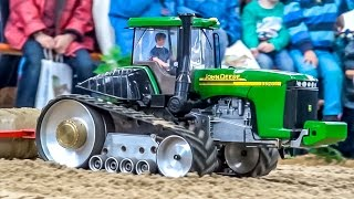 RC Tractors In 1:16! Amazing Farming World!