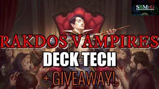 Mtg Deck Tech: Rakdos Vampires in MID Standard (Plus Giveaway)