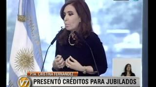 Visión Siete Cristina El 81 Por Ciento De Los Trabajadores No Paga Impuesto A Las Ganancias