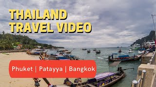 preview picture of video 'Thailand Travel Video-Phuket, Pattaya & Bangkok-Major Tourist Attractions'