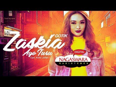 Zaskia Gotik Putar Perdana Single Terbaru Berjudul Ayo Turu Di Radio