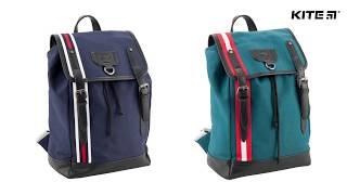 """Рюкзак молодежный Urban K18-896L-1 от компании Интернет-магазин """"Радуга"""" - школьные рюкзаки, канцтовары, творчество - видео"""