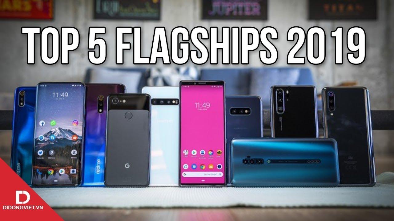 5 điện thoại siêu cấp đáng mua nhất cuối năm nay