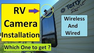 Review: Haloview Wired RV Camera installation