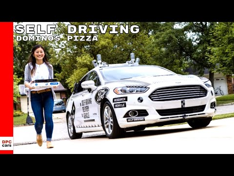 Dominos Pizza Self Driving Autonomous Delivery With Ford