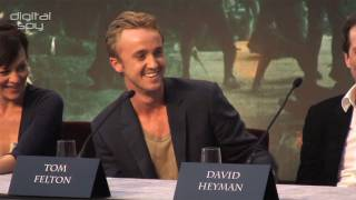 Том Фелтон, 'Harry Potter and the Deathly Hallows Part 2' Press Conference (2/3)