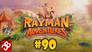 Rayman Adventures (Adventure 192 -193) iOS / Android Gameplay Video - Part 90