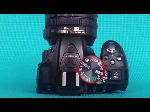 Bracketing Nikon D5300 - D5100, D5200, D5500 - Tutorial DSLR