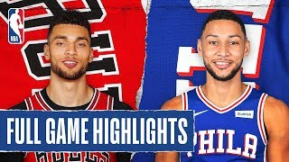 BULLS at 76ERS | FULL GAME HIGHLIGHTS | January 17, 2020