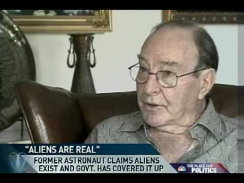 "MSNBC: Dr. Edward  Mitchell on UFO's ""Aliens are Real"""
