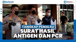Polisi Tangkap Komplotan Pemalsu Surat Hasil Antigen dan PCR, Pelakunya Iis Dahlia dan Joko