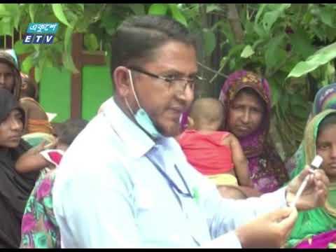 ভোলায় জীবনের ঝুঁকি নিয়ে মাঠ পর্যায়ে ৩৫০ জন স্বাস্থ্য সহকারী | ETV News